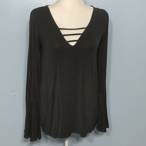 American Eagle Soft&Sexy Bell Sleeve Top / Medium